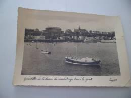 CPSM - Granville ( Manche 50) - Le Bateau De Sauvetage Dans Le Port ( Lucien / Edition Artistique 28) - Granville