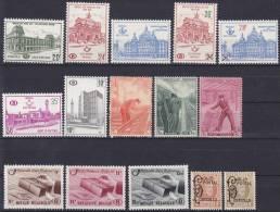 BELGIË -  SELECTIE  58 (SPOORWEG) - MH* - Cote 43.10€ - Belgique