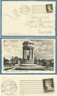 FRIULI VENEZIA GIULIA  - GORIZIA - MONUMENTO  AI CADUTI GORIZIANI  CON ANNULLO SPERIMENTALE A BARRE - VIAGGIATA  1938 - Unclassified
