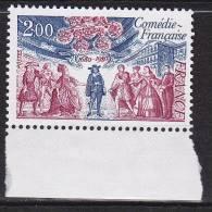 N° 2106 300ème Anniversaire De La Comédie Française - France