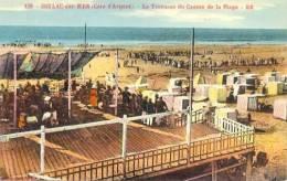 CPA SOULAC SUR MER - LA TERRASSE DU CASINO DE LA PLAGE - Soulac-sur-Mer