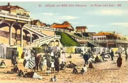 CPA SOULAC SUR MER - LA PLAGE - COTE SUD - Soulac-sur-Mer