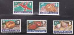 Solomon Islands, 1990, 670/4 Set Of 5, MNH - Solomoneilanden (1978-...)
