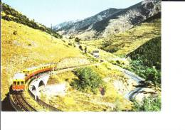 66.- Le Train De La Vallée Du TET - Francia