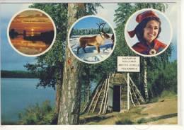 SUOMI - FINLAND  - Terveisia Lapista, Arctic - Circle - Ca 1990 - Finlande