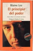 El Principio Del Poder Blaine Blaine Lee Ed: Mondadori Pags: 452 Año: 2000  Mjl - Livres, BD, Revues