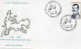 Taaf Archipel Des Kerguelen  Port Aux Français Lettre Du 31/12/1978 Rallier Du Baty 1ier Jour - Zonder Classificatie
