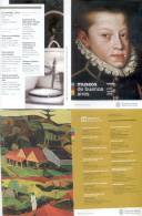 MUSEOS DE BUENOS AIRES MINISTERIO DE  CULTURA GOBIERNO DE LA CIUDAD JUIO-AGOSTO 2009 AGENDA 14 PAGINAS BELLE MUSEUMS - Catalogues