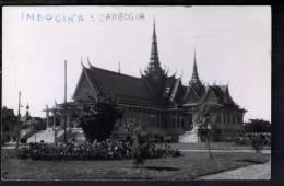 F362 Kampuchea - KAMPUCHEA - Cambodge Pittoresque P. Penh - Le Palais Du Trone - Librairie Centrale Editeur - Cambogia