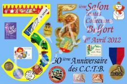 Belfort 35ème Salon 2012 Toutes Collections (émise Par Les CCTB) - Belfort - Città