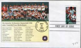 USA FDC -- - World Cup
