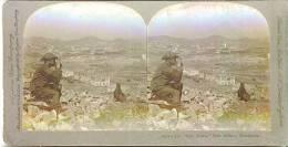 MandcuriThe New Town Port Arthur Manchuria - Stereoscopic