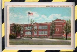 PHILIPPI. - . HIGH SCHOOLL BUILDING. W. VA. - Etats-Unis
