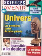SCIENCES ET AVENIR .  N° DECEMBRE 1994 . UNIVERS  EXCLUSIF / LES PREMIERES CARTES DE NOTRE GALAXIE - Science
