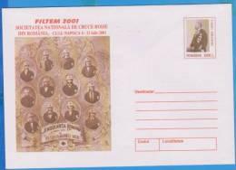 Red Cross National Society ROMANIA Postal Stationery 2001 - Rotes Kreuz