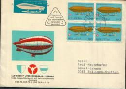 1976 ENVELOPPE COMMEMORATIVE SURSEE LUZERN - Posta Aerea