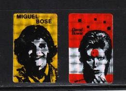 Miguel Bosè   E   David Bowie.  Autoadesivi - Plakate & Poster