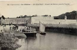 ILE D´OLERON- Le CHATEAU- Départ Du Bateau Pour Le Chapus - Ile D'Oléron