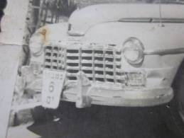 1940 Véhicule Voiture Automobile Ancienne Modèle Et Marque à Déterminer Immatriculation En Israël à Jérusalem - Automobili