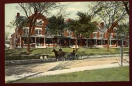 Cpa  Des Etats-Unis Kansas Fort Leavenworth , Scofield Hall , Officiers Quarters    PVY3 - Non Classés