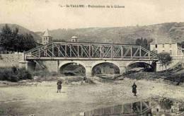 CPA 26 SAINT-VALLIER - EMBOUCHURE DE LA GALAURE - Autres Communes
