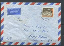 Germany Berlin 1962  Cover  To USA  Single Usage   Cv 20 Euro - Covers