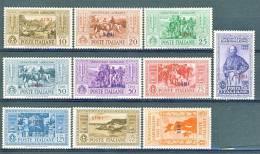 Simi, Isole Dell'Egeo 1932 SS 81 Garibaldi N. 17 - 26 MLH - Ägäis (Simi)