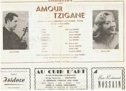 CONSTANTINE      OPERETTE En  3  ACTES     AMOUR TZIGANE - Theatre, Fancy Dresses & Costumes