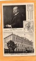 Litvuas St Seimo Rumas Kaunas Kowno A. Stulginskis I Lieutvos Steig Seimo Pirmininkas Old Postcard - Lituanie