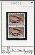 Südafrika - South Africa - Michel ? 20,00 Rand  Im Paar - Oo Oblit. Used Gebruikt - Schmuck - Afrique Du Sud (1961-...)