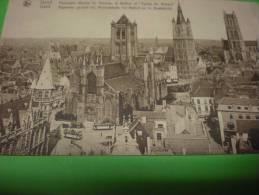 Gand, église St Nicolas Et Beffroi Et église St Bavon - Gent