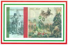 [DC1468] CARTOLINEA - 150 ANNI DELL´UNITA´ D´ITALIA - LE REVEIL DE L´ITALIE 1861 - Manifestaciones