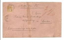 Suisse - Zst. 32 - Yvert # 37 Sur Lettre En Contre Remboursement De St Gall Pour Speicher Appenzell - - Lettres & Documents