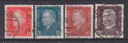 DR 413, 415, 421-422, Ebert Und Hindenburg, Gestempelt - Gebraucht