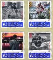 Zu 1147-1150 / Mi 1906-1909 / YT 1831-1834 Obl 1er Jour BERN 1 SCHANZENPOST 3.1.05 - Switzerland