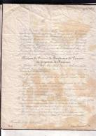 CORROY-le-GRAND BRUXELLES Baronne De BEECKMAN Née HUYSMAN De NEUFCOUR 1787-1855 T'SERCLAES-TILLY LIEDERKERKE-BEAUFORT - Décès