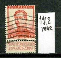 BELGIO - BELGIQUE - Regno Di ALBERTO I - Year 1912-13 - VIAGGIATO - TRAVELED.. - Usati