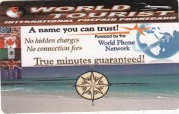 MEXICO - Beach, World Tourist Promotion Prepaid Card, Mint - Messico