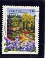 CANADA, 1991, USED # 1313, CANADIAN  PUBLIC GARDENS: ROYAL BONATICAL  GARDENS In ONTARIO  USED - 1952-.... Règne D'Elizabeth II