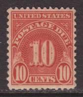 U.S. J84   Perf 11 X 10 1/2  *  No  Wmk.  1931-6 Issue - Postage Due