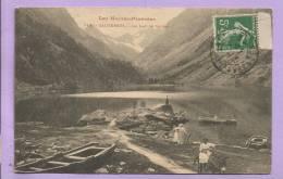 Dépt  65 - CAUTERETS -  Le Lac De GAUBE - Animée - Oblitérée En 1912 - Cauterets