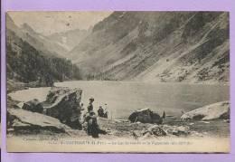 Dépt  65 - CAUTERETS -  Le Lac De GAUBE Et Le Vignemale - Animée - Oblitérée En 1921 - Cauterets