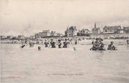SAINT PAIR. L'heure Du Bain - Saint Pair Sur Mer