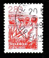 FRANCE  1995  -  Y&T  2952  -   La Camargue  - Cachet - Gebraucht