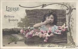 7083 - Louise Meilleurs Souhaits - Prénoms