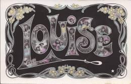 7089 - Louise Portraits De Jeunes Filles Art Nouveau - Prénoms