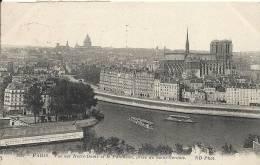 Paris- Vue Sur Notre-Dame Et Le Panthéon, Prise De Saint-Gervais. - Panoramic Views