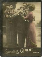 Chromos Réf. B715. Cigarettes Climent, Alger- Couple - Chromos