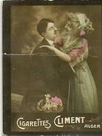 Chromos Réf. B717. Cigarettes Climent, Alger- Couple - Chromos