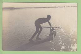 SIGUIRI : CARTE PHOTO, Sur Le Niger. 2 Scans. - French Guinea